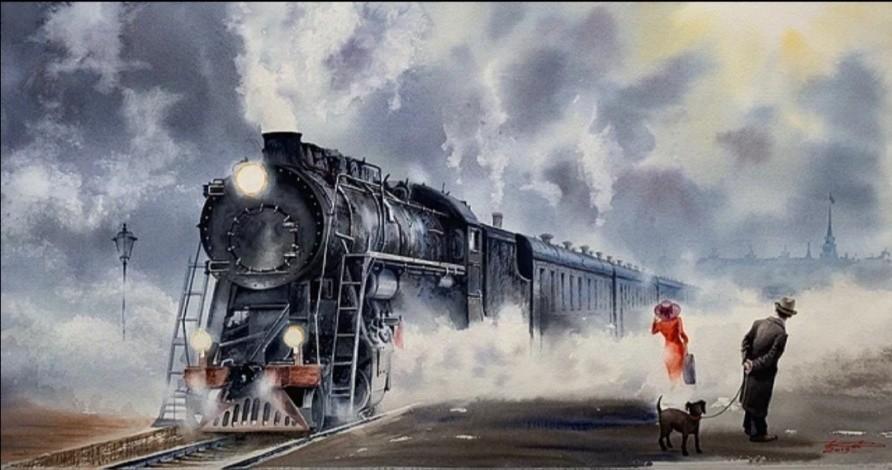 Художник Игорь Дубовой об акварели, бумаге для рисунков и современном дизайне.