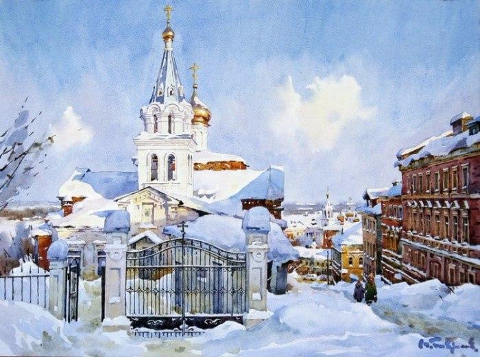 Художник Модест Гаврилов. Акварели