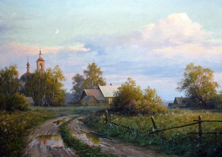 Художник Николай Бусыгин. Русский пейзаж