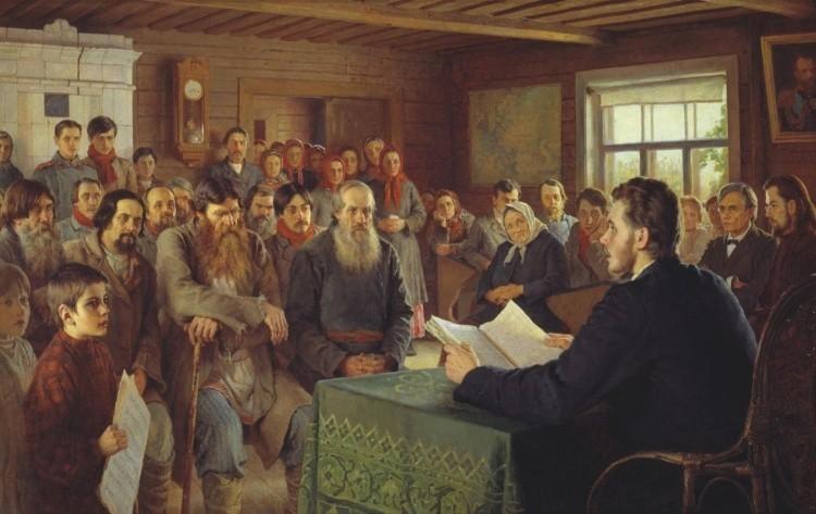 Художник Николай Богданов — Бельский (1868 — 1944).