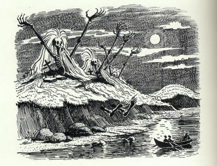Месть, которую Иван придумал для Петро, из повести Н.В. Гоголя «Страшная месть»