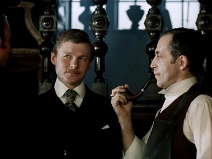 Диалог между Шерлоком Холмсом и доктором Ватсоном о Копернике. (отрывок)