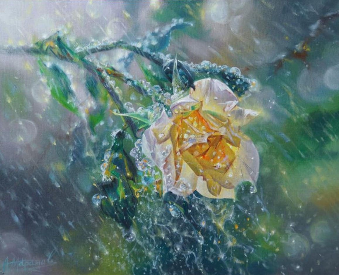 Художник Александр Маранов. Оглушительный поток света и цвета