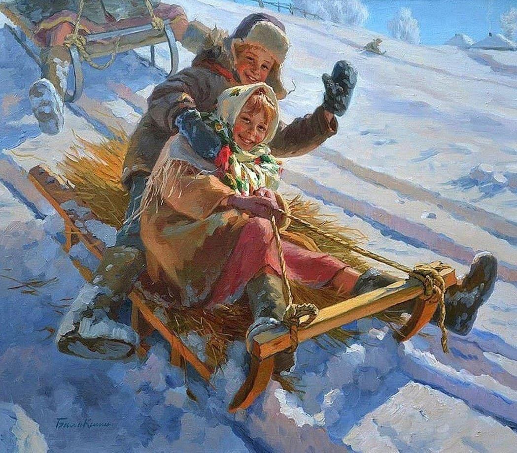 Художник Евгений Балакшин. Маленькие истории про большое счастье