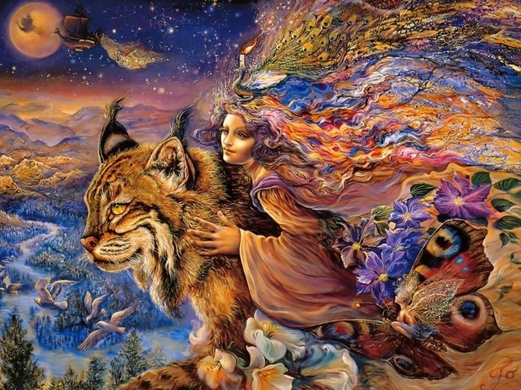 Художник Josephine Wall. Феи, богини и знаки судьбы