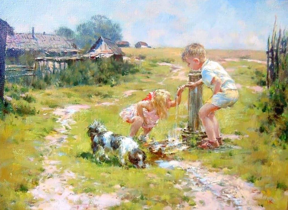Художник Николай Козленко. Красота каждого дня
