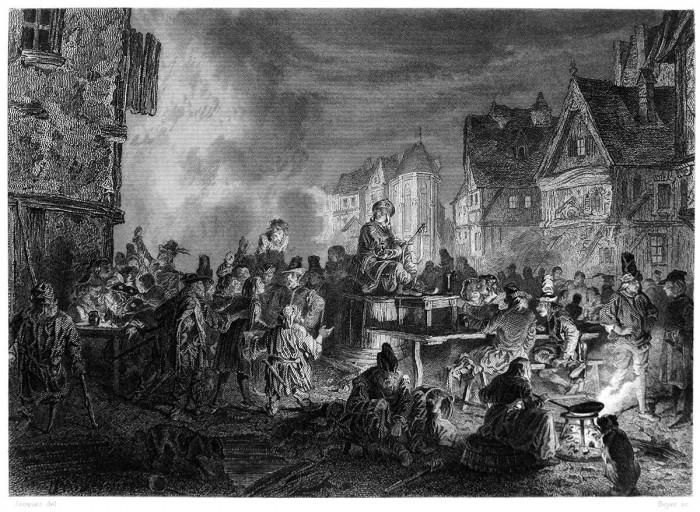 Отрывок из романа В. Гюго «Собор Парижской Богоматери» (1831).