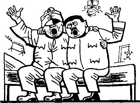 Водичка рассказывает Швейку о мадьярах