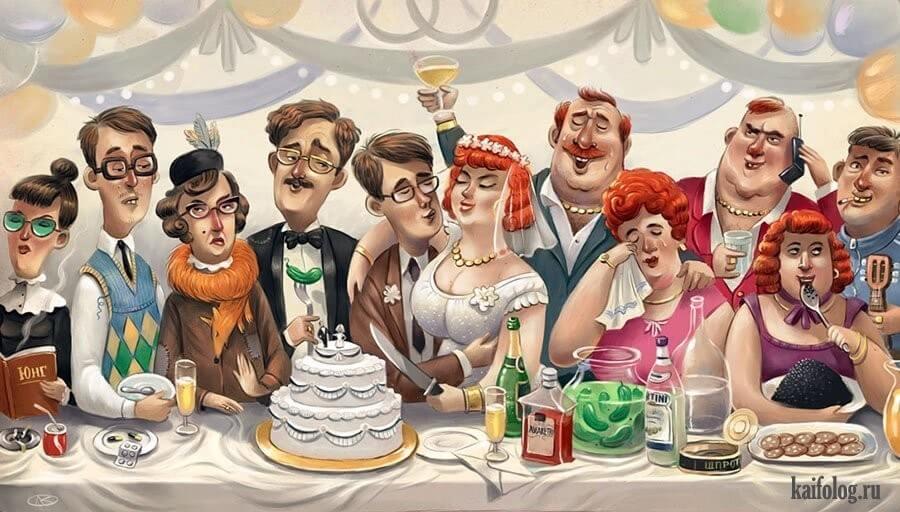 ? Анекдоты с одесской свадьбы ?