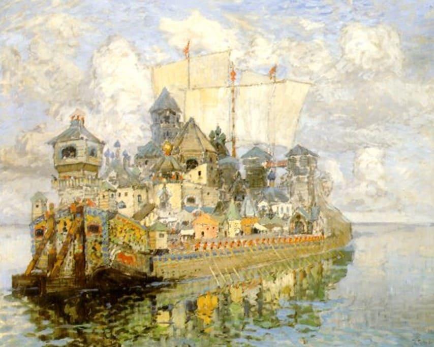 Художник Константин Горбатов (1876 – 1945). Дорога в Китеж