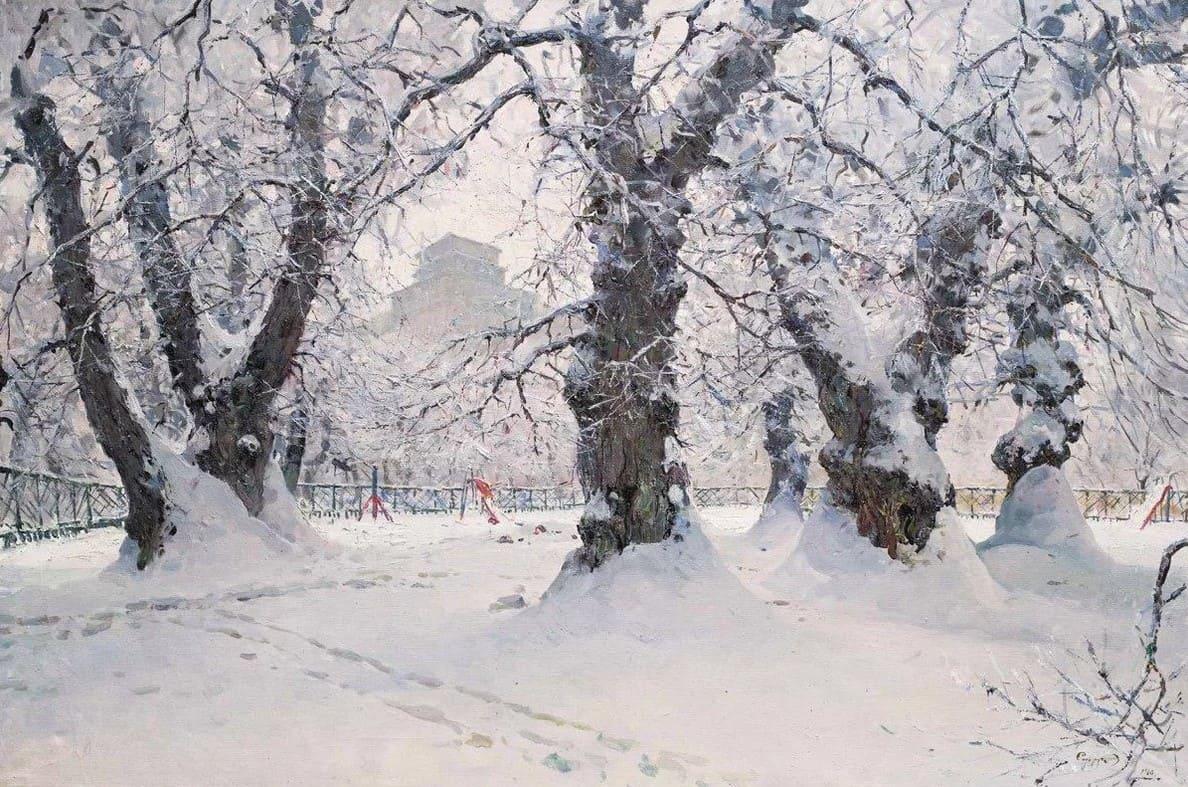 Художник Владимир Сидорук (1925 – 1997). Днепровские дали
