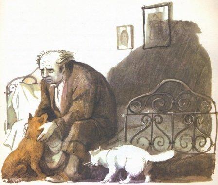 Мысль из повести А.П. Чехова «Каштанка» (1887).