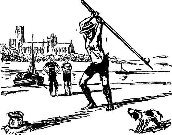 Отрывок из повести Джерома К. Джерома «Трое в лодке, не считая собаки» (1889).