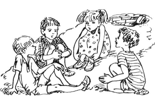 Отрывок из рассказа В.Ю. Драгунского «Зеленчатые леопарды» (1959, Денискины рассказы) .