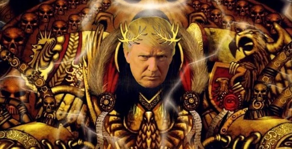 Трамп и Бог  анекдот