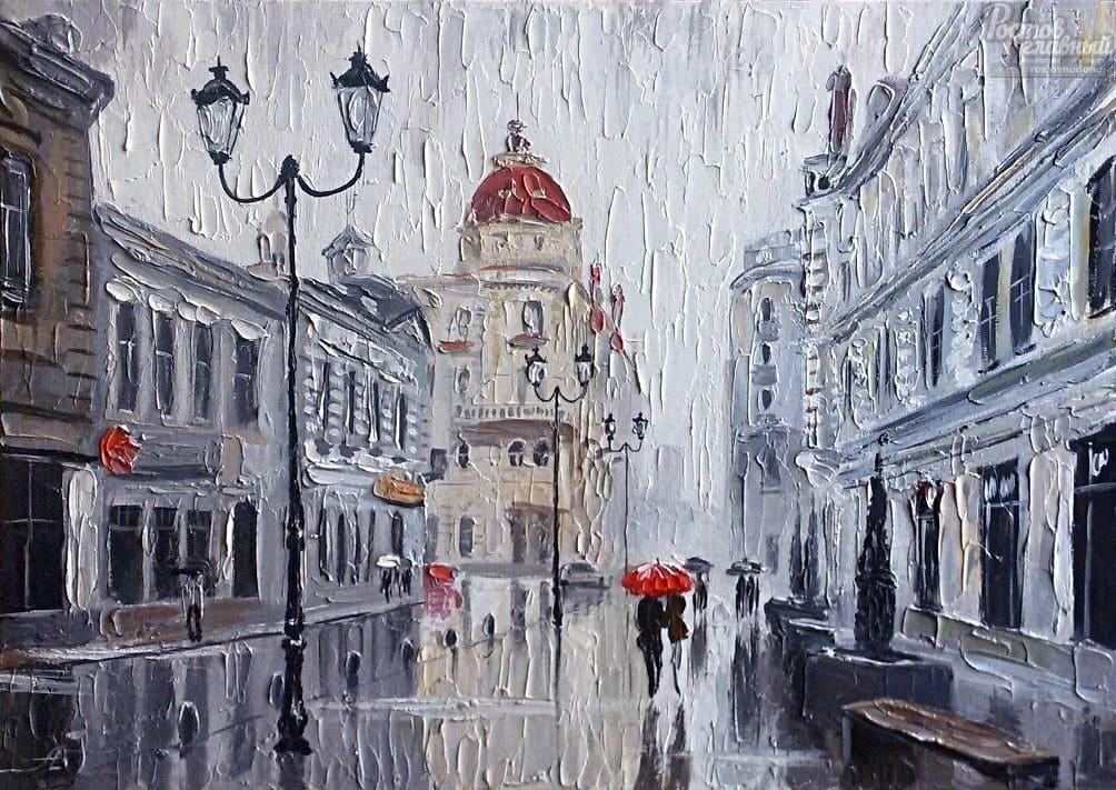 Художник Александр Болотов. Нет ничего лучше плохой погоды