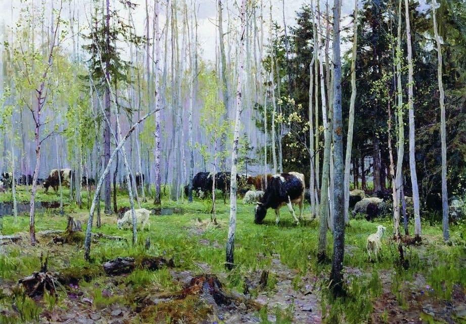 Художник Алексей Грицай (1914 – 1994). Когда цветёт ива