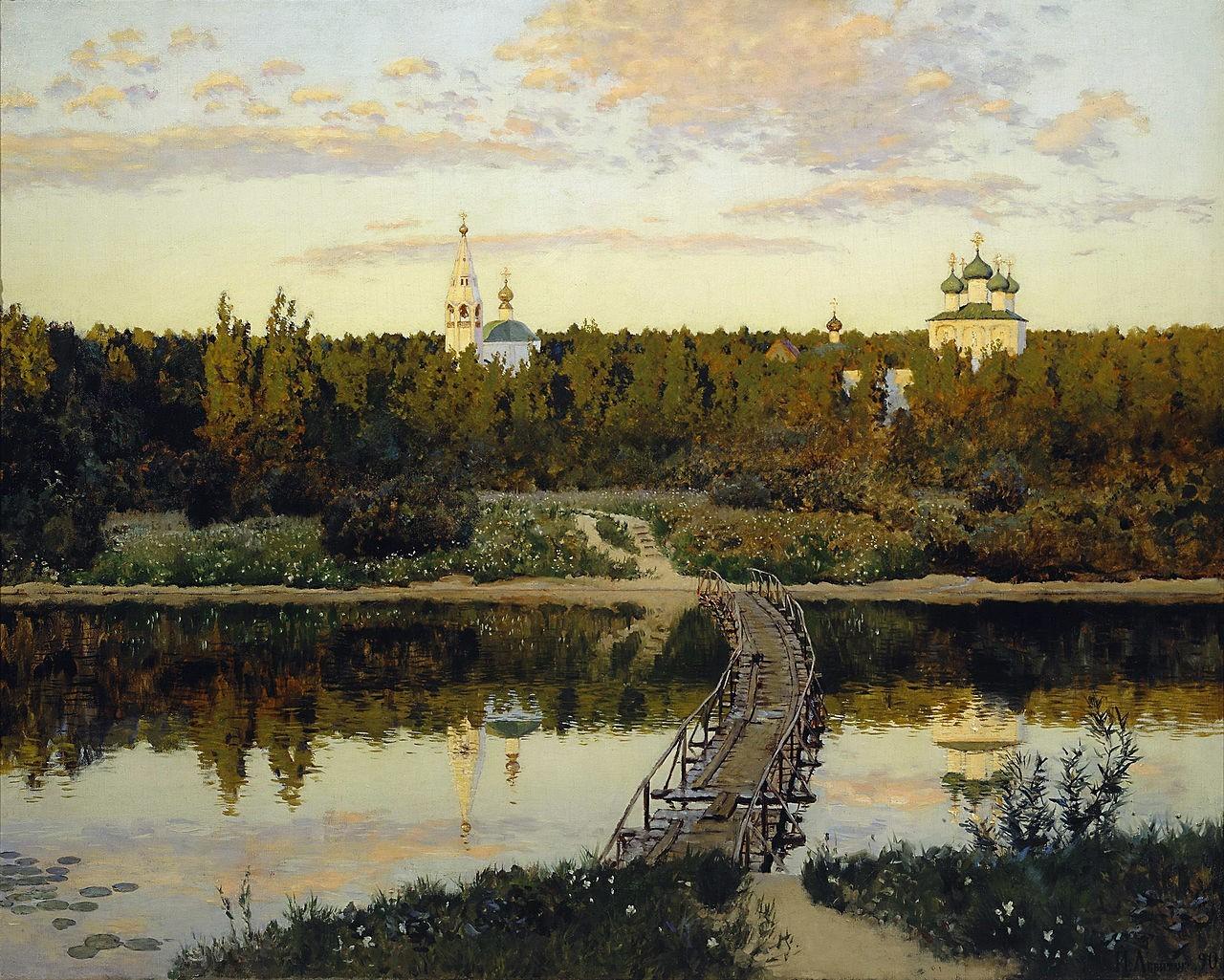 Художник Исаак Левитан (1860 – 1900). Главное в живописи – это чувствовать!