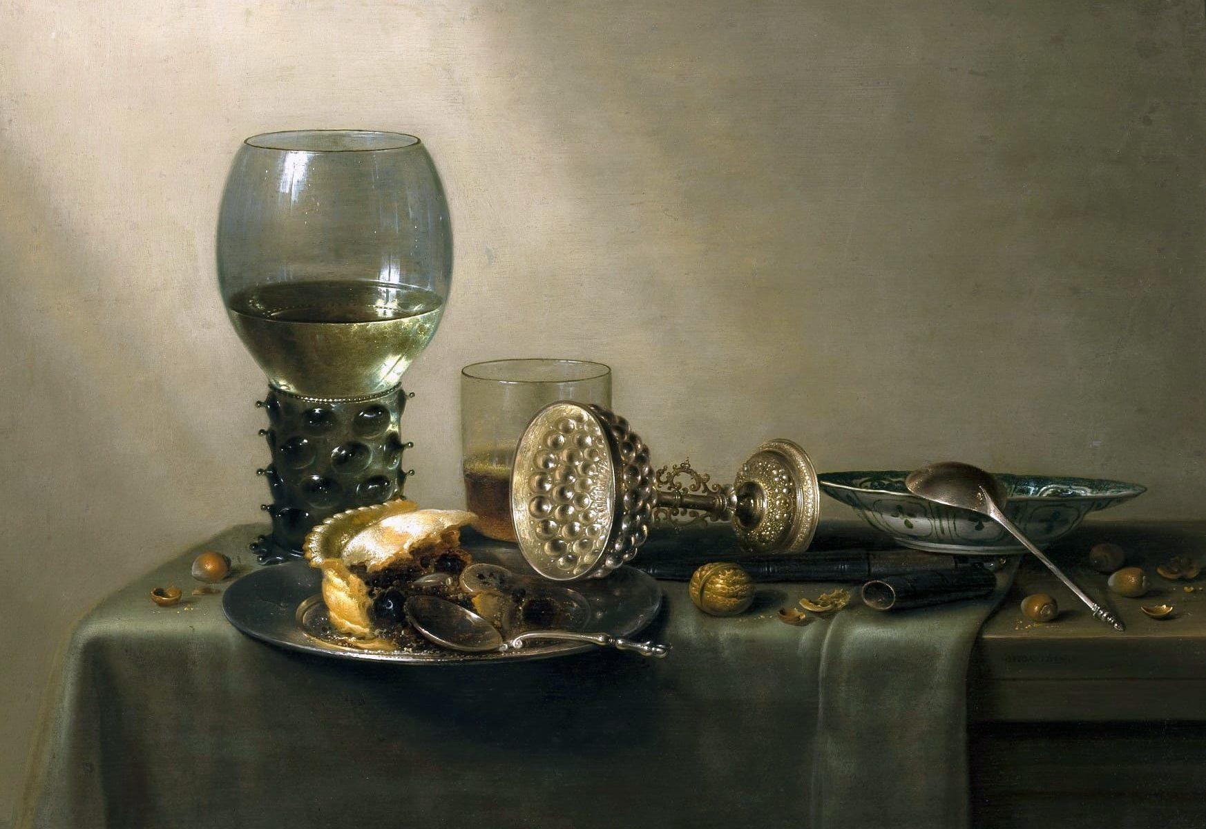 Художник Willem Claesz Heda (1593 – 1682). Натюрморты-завтраки
