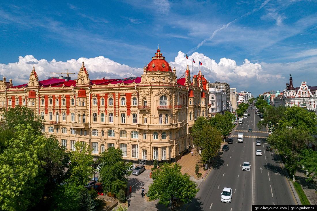 Ростов-на-Дону — южная столица России с высоты. Потрясающее виды!