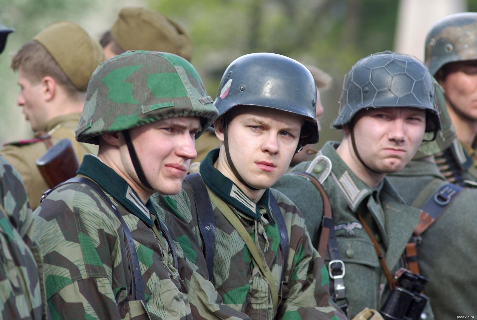Пранк по советски или Как советские студенты фашистами прикидывались