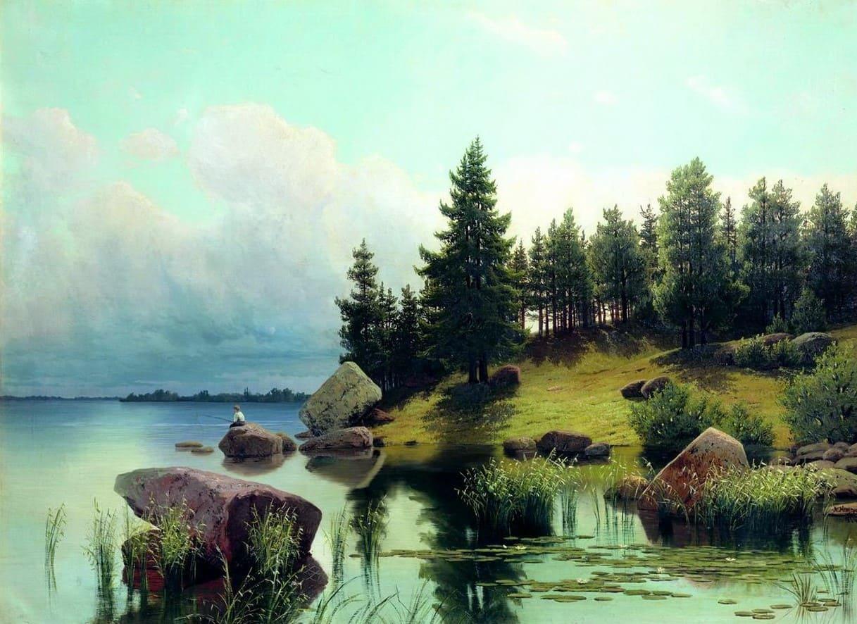 Художник Арсений Мещерский (1834 – 1902). Пейзажи