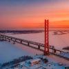 Зимний Сургут — столица нефти и газа (60 фото)