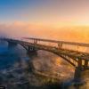 Зимний Новосибирск — заснеженный мегаполис в Сибири (81 фото)