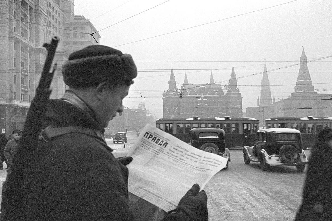 (МОСКВА*1941) БОРЬБА С ПАНИКЕРАМИ, РАСПРОСТРАНИТЕЛЯМИ ЛОЖНЫХ СЛУХОВ И ВРАЖЕСКИМИ АГЕНТАМИ