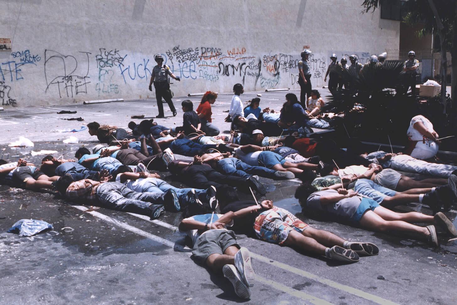 Лос-Анджелесский бунт в 1992 году: немного о демократии