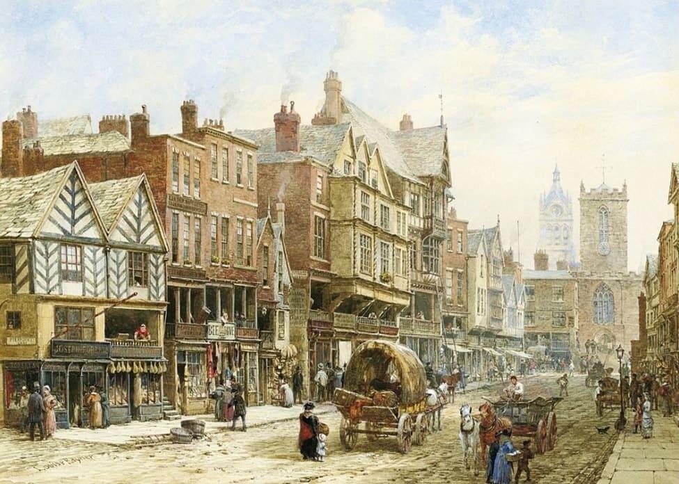 Художник Louise Ingram Rayner (1832 – 1924). Акварели