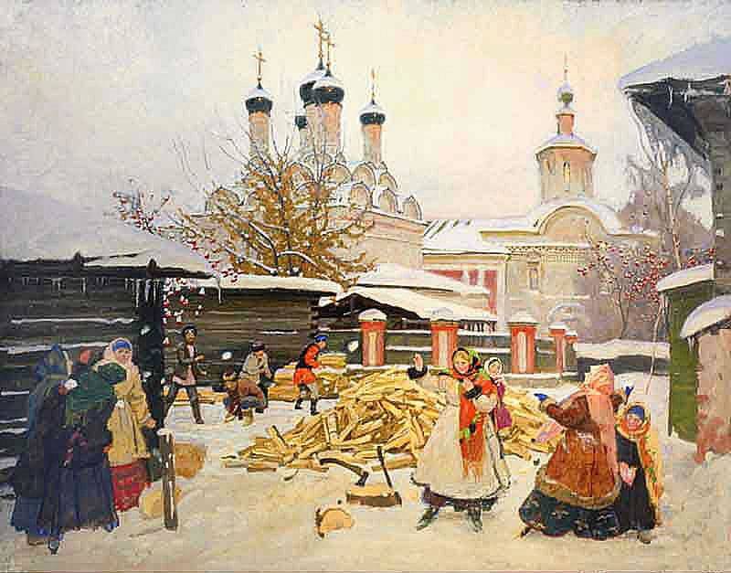 Художник Сергей Смирнов (1954 – 2006). Уютная Москва