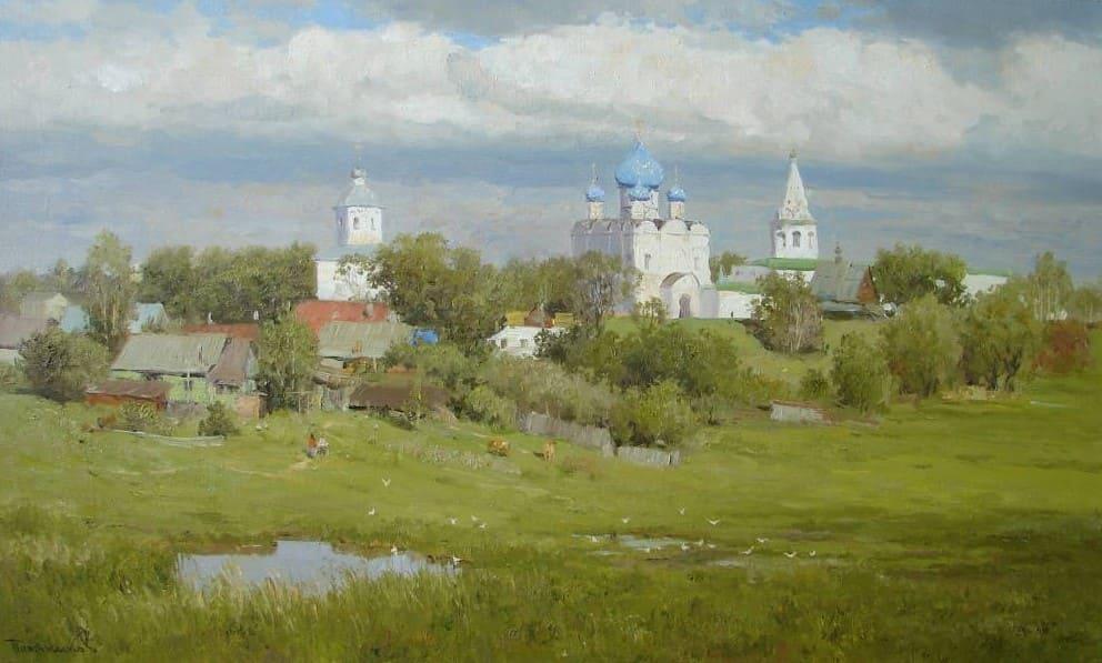 Художник Вячеслав Плотников. Душа русской земли