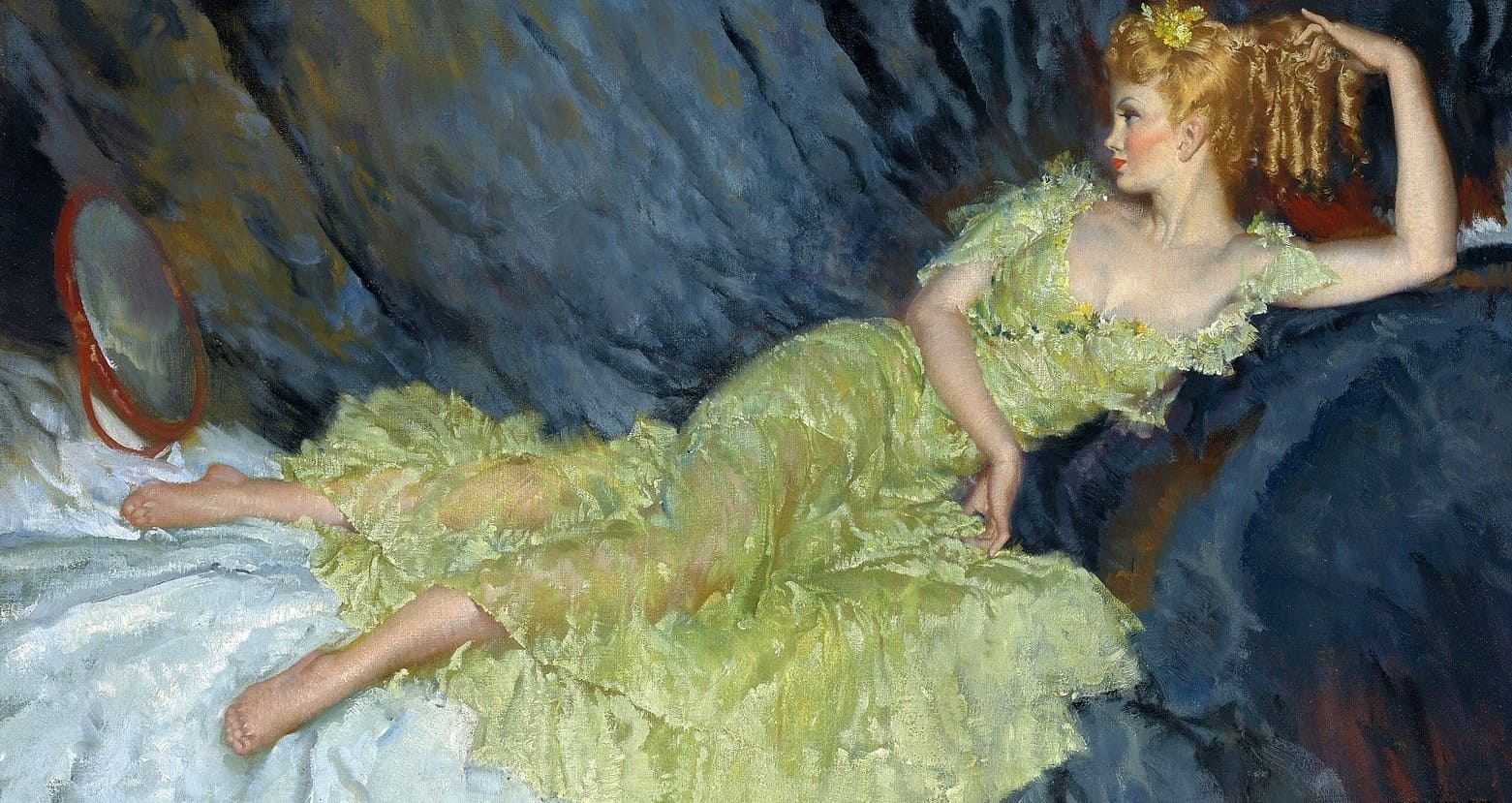 Художник William Russell Flint (1880 – 1969). Модели и художники