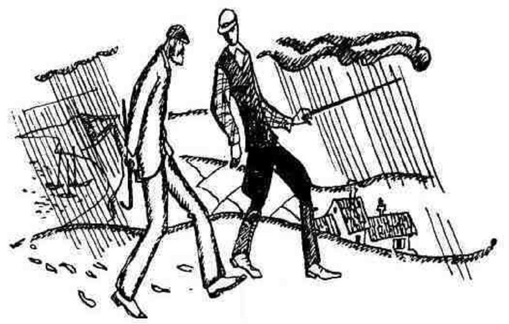 """""""Воскресный день среди холмов Суррея"""" рассказ. Автор Бернард Шоу"""