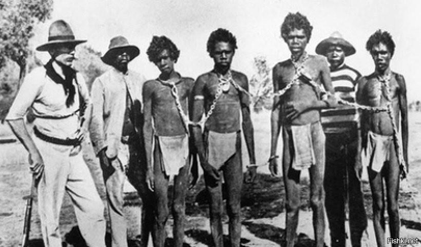 В Австралии до 1960 года аборигенов считали животными