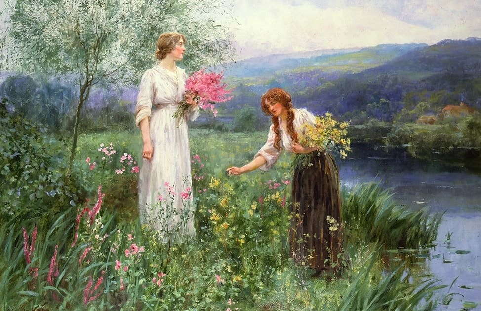 Художник Henry John Yeend King (1855 – 1924)