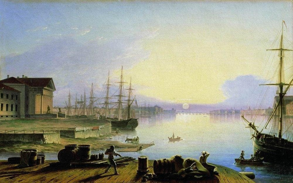 Художник Максим Воробьёв (1787 — 1855). Отец русского пейзажа