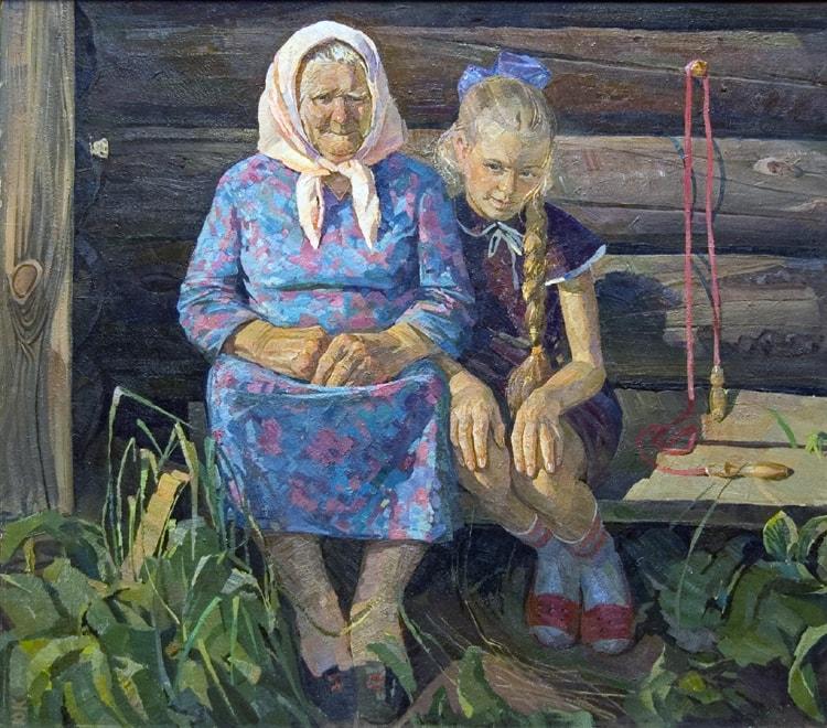 Художник Юрий Кузякин. Золото детства