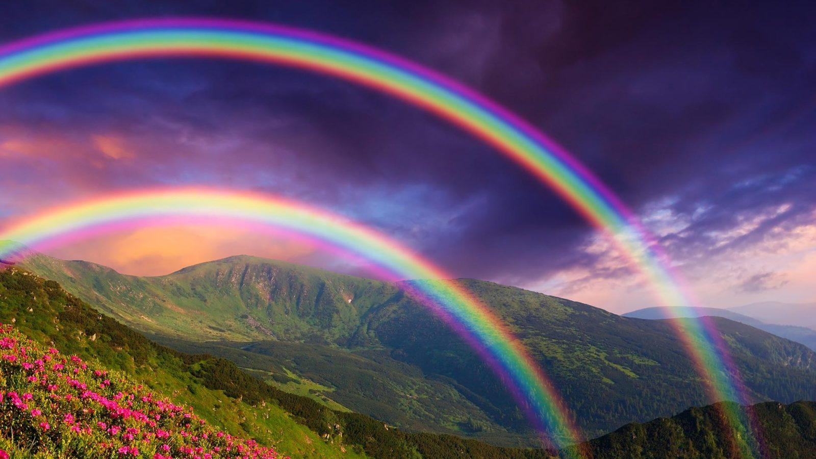 Хорошо быть радугой- рассказ фантазия