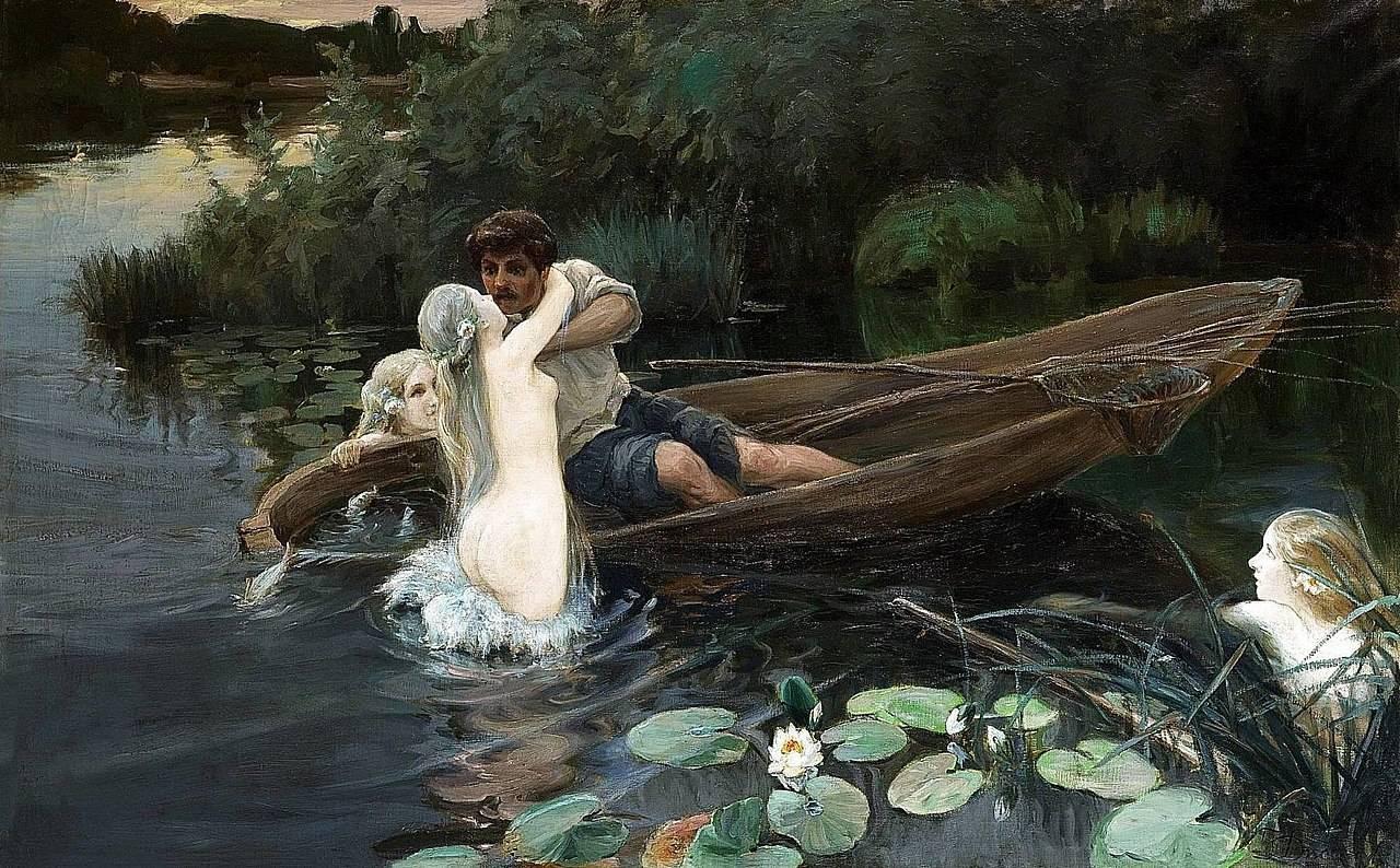 «В озере купалася русалка..» житейская мистическая Быль