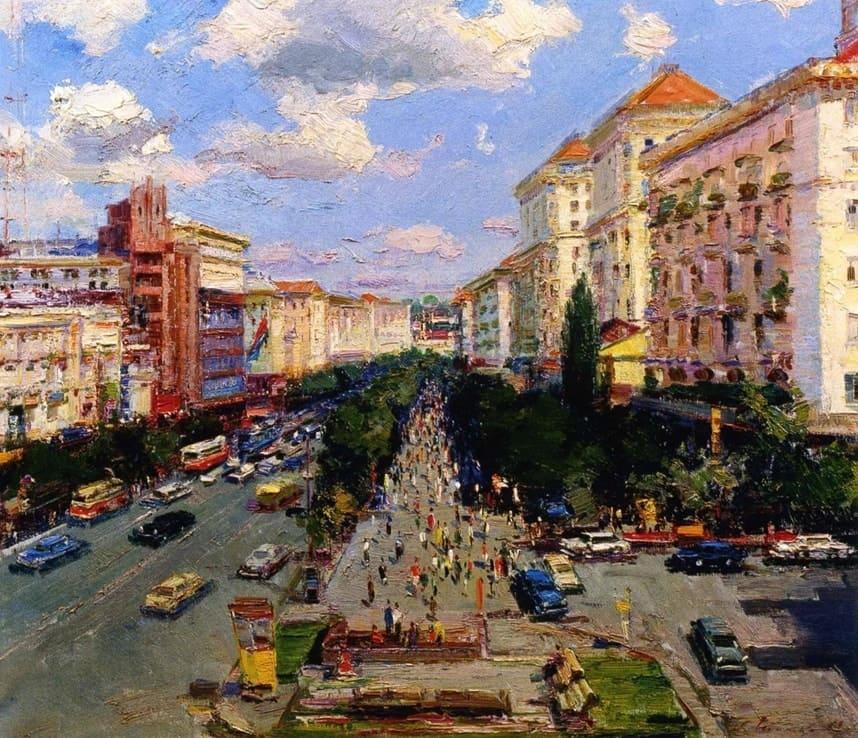 Художник Сергей Шишко (1911 – 1997). Те славные годы.