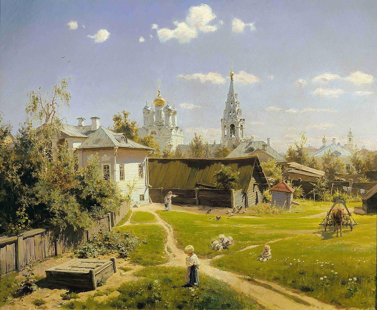Художник Василий Дмитриевич Поленов (1844 – 1927)