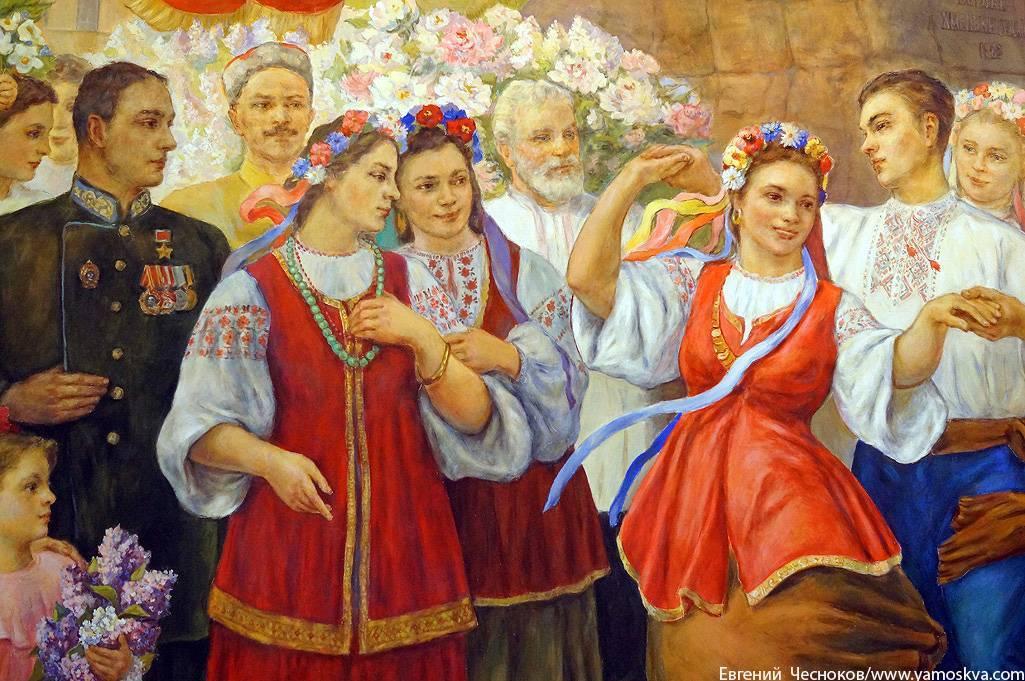СОВЕТСКОЕ ПРОШЛОЕ ВЫШИВАНКИ (Сергей Васильев)