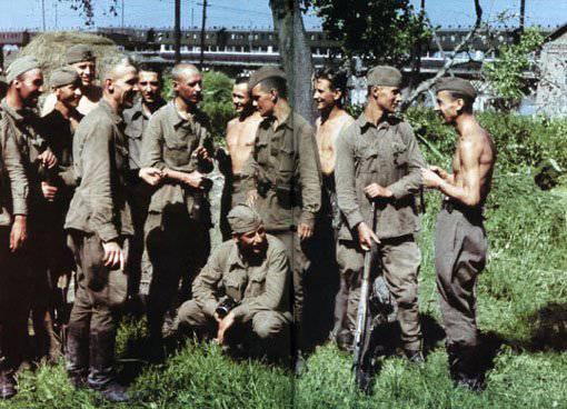 Нацистское диверсионное подразделение «Бранденбург-800»