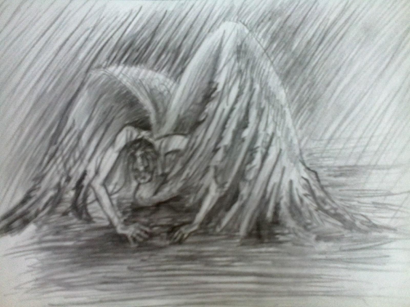 """""""Очень старый человек с огромными крыльями"""" рассказ. Автор Габриэль Гарсиа Маркес"""
