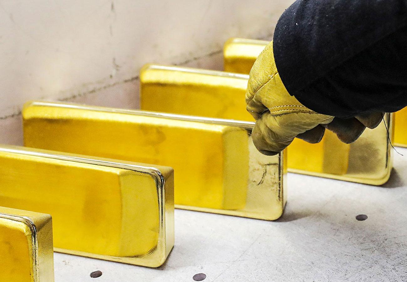 Россия готовится увеличить производство золота в два раза
