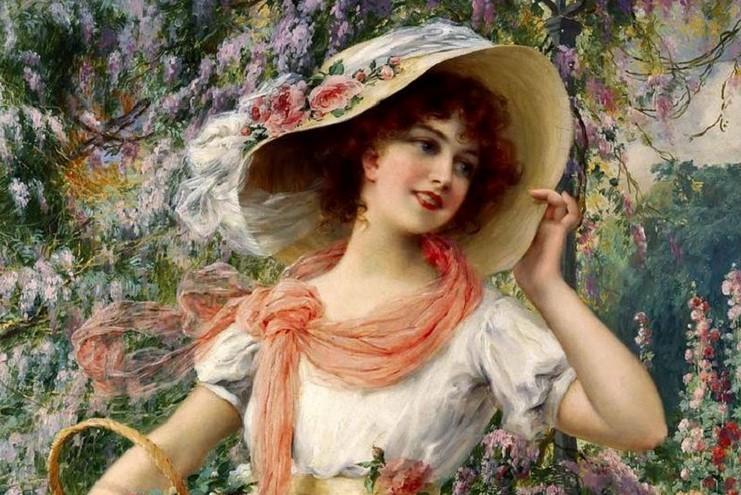 Художник Emile Vernon (1872 — 1920). Я голоса её не слышал и имени её не знал…