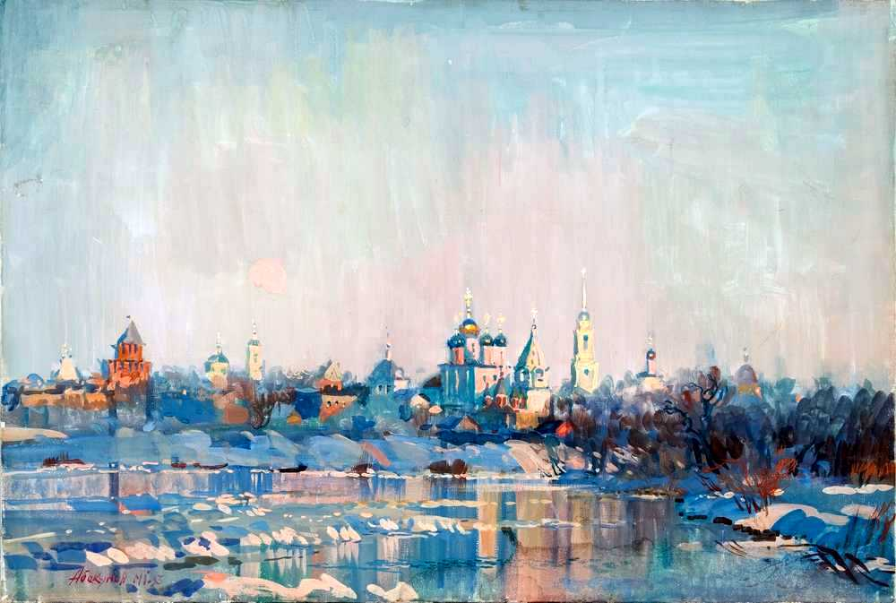 Советский и российский художник Михаил Абакумов (1948 – 2010)