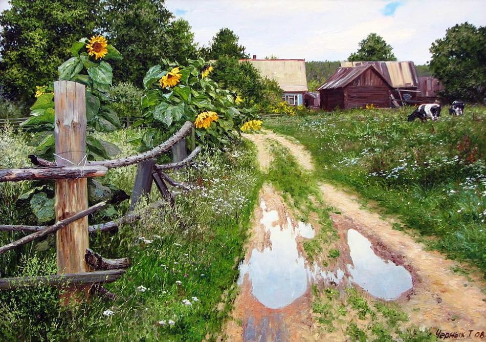 Художник Татьяна Черных. Будет сниться зимой это лето